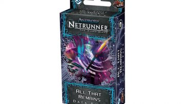 Android Netrunner All That Remains Datapack