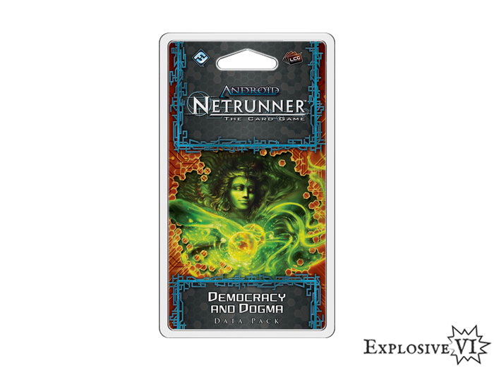 Android Netrunner Democracy and-Dogma Datapack