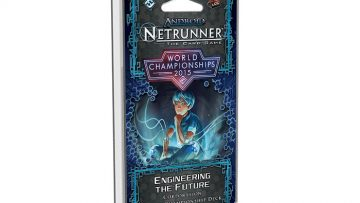 Android Netrunner Engineering the Future Corporation World Championship Deck 2015