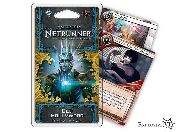 Android Netrunner Old Hollywood Datapack