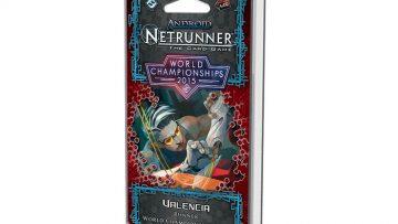 Android Netrunner Valencia Runner World Championship Deck 2015