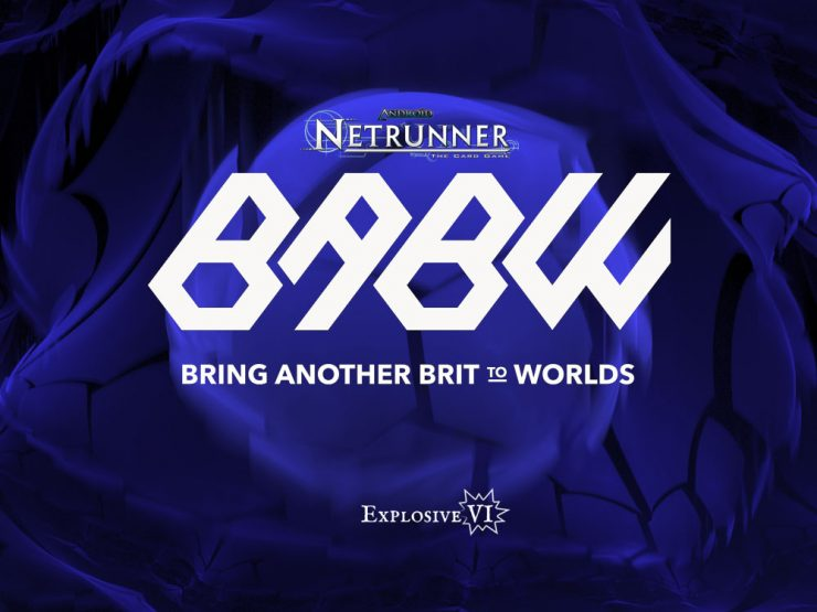 Android Netrunner BABW Ticket