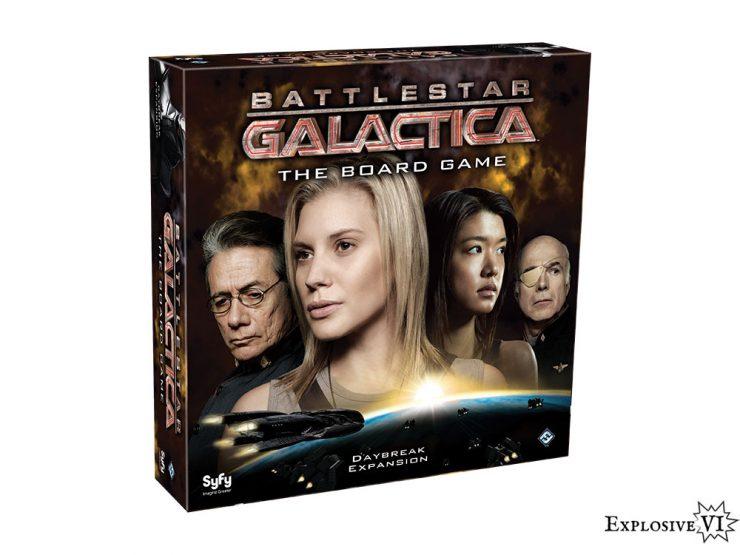 Battlestar Galactica DaybreakExpansion