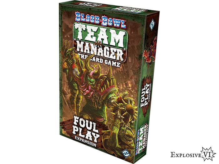 Blood Bowl Team Manager Foul Play Expansion