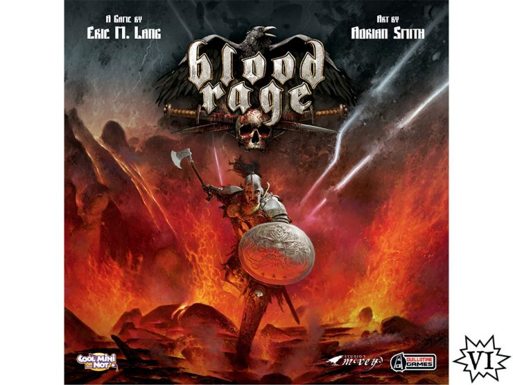 Blood Rage Board Game Cover