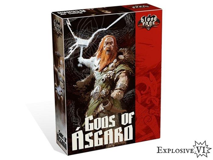Blood Rage Gods of Asgard Expansion