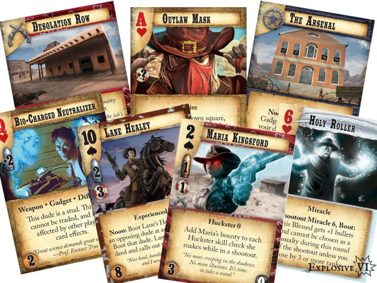 Doomtown Faith and Fear Cards