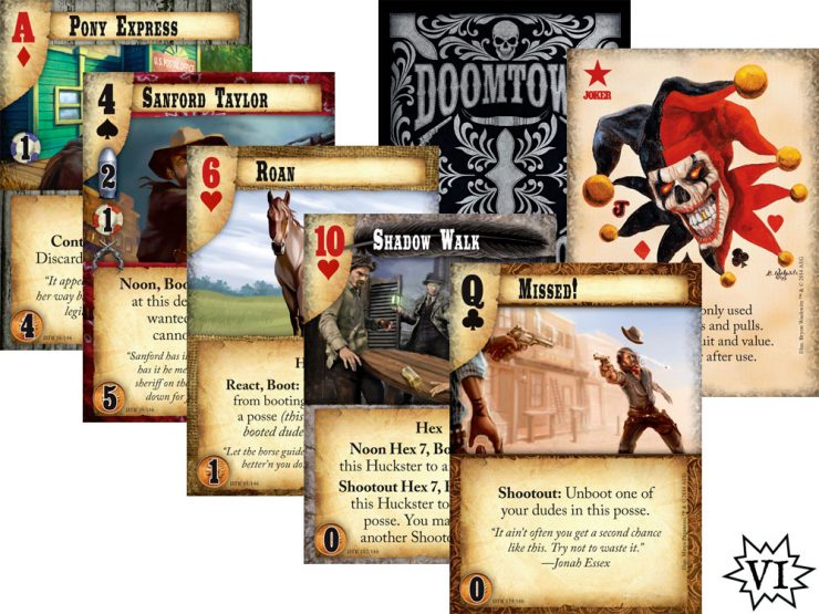 Doomtown Reloaded Card Fan