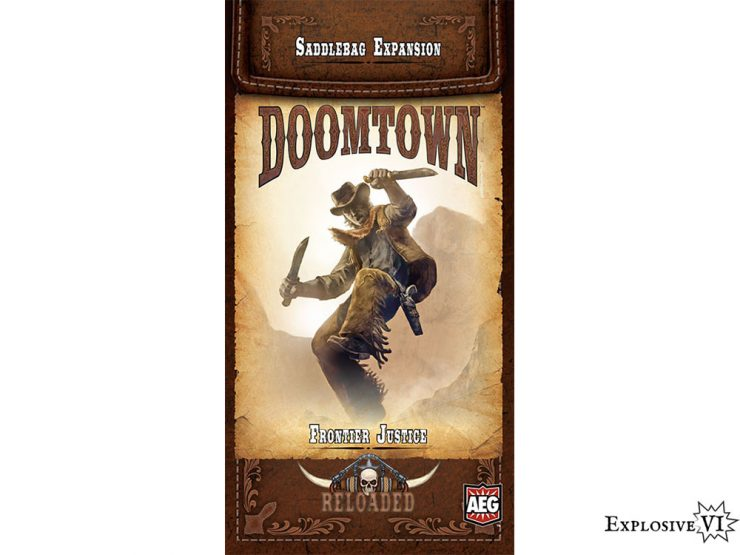 Doomtown Saddlebag Frontier Justice