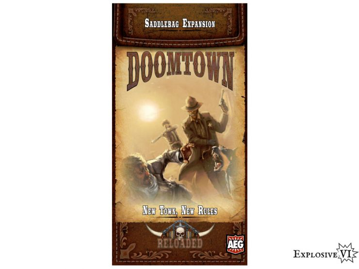 Doomtown Saddlebag New Town New Rules