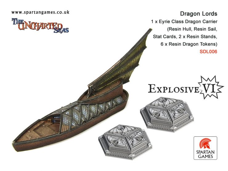 Dragon Lords Eyrie Class Dragon Carrier