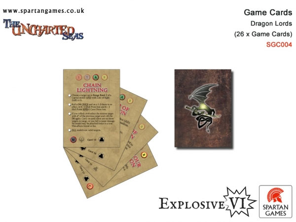 Dragon Lords Star Game Cards