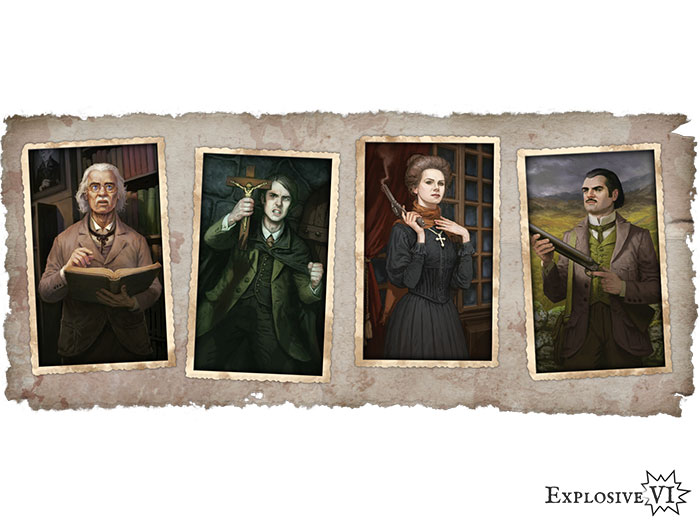 Fury of Dracula hunters