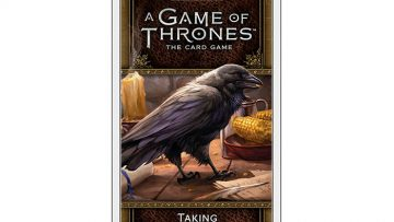 Game of Thrones Card Game Taking the Black expansion