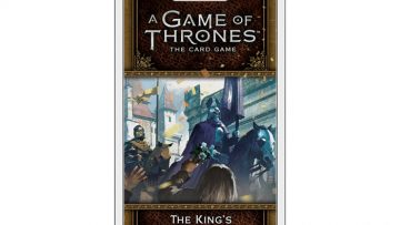 Game of Thrones Card Game The Kings Peace Chapter Pack