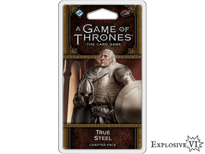 Game of Thrones Card Game True Steel Chapter Pack Expansion