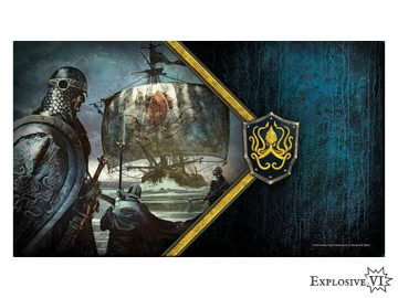 Game of Thrones House Greyjoy Ironborn Reavers Playmat