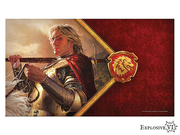 Game of Thrones House Lannister Kingslayer Playmat