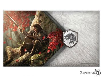 Game of Thrones House Stark Warden of the North Playmat