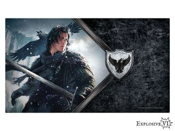 Game of Thrones Nights Watch Lord Commander Playmat