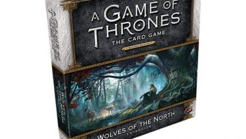 Game of Thrones Wolves of the North Deluxe Box Expansion House Stark