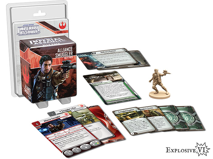 Imperial Assault Alliance Smuggler