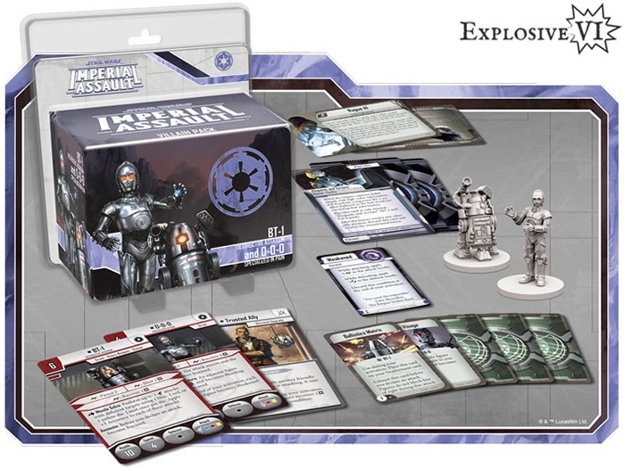 Imperial Assault BT-1 & 0-0-0 Villain Pack