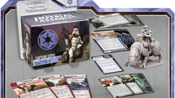 Imperial Assault Captain Terro Villain Pack