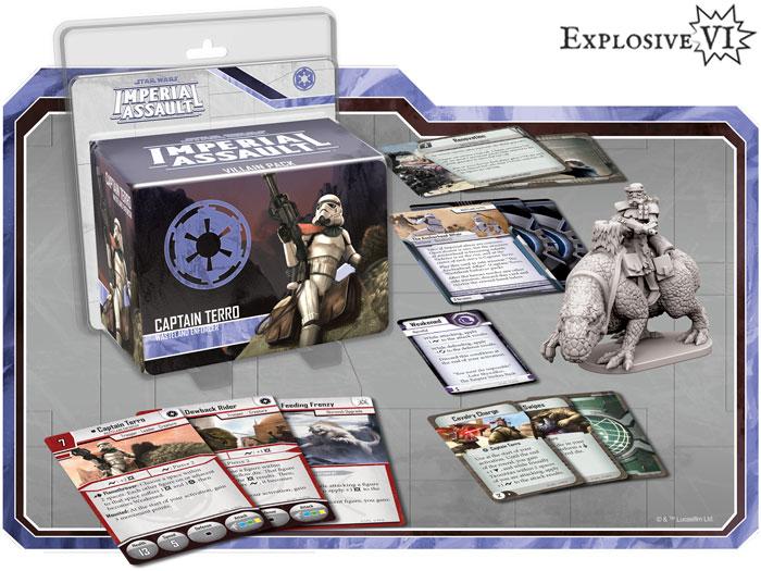 Imperial Assault Captain Terro Villain Pack