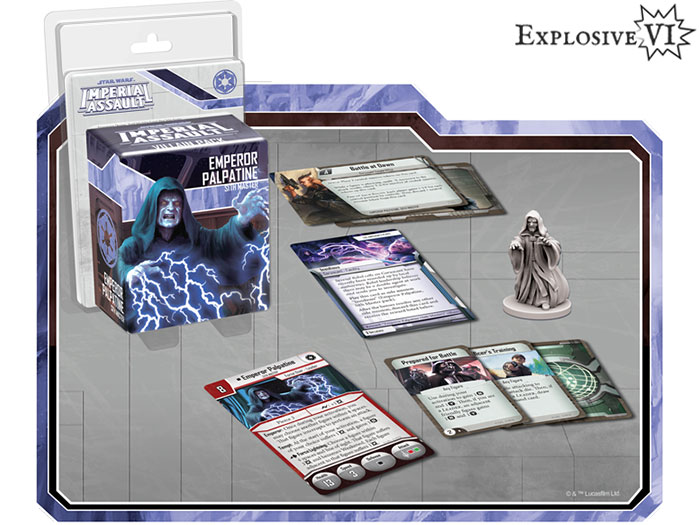 Imperial Assault Emperor Palpatine