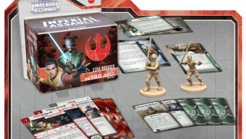 Imperial Assault Ezra Bridger Kanan Jarrus