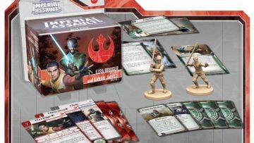 Imperial Assault Ezra Bridger Kanan Jarrus