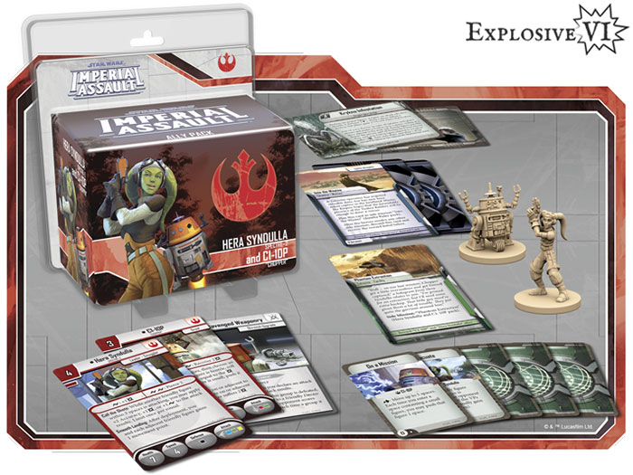 Imperial Assault Hera Synulla & C1-10P