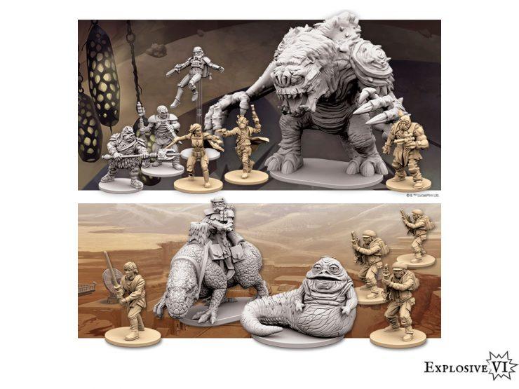 Imperial Assault Jabba Bundle