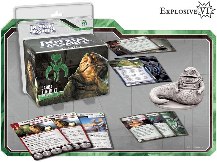 Imperial Assault Jabba the Hutt Villain Pack