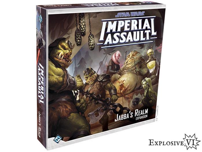 Imperial Assault Jabbas Realm Expansion