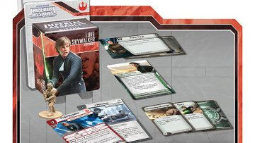 Imperial Assault Luke Skywalker Jedi Knight Ally Pack