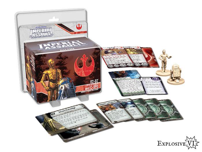 Imperial Assault R2D2 C3PO