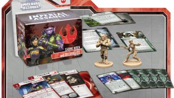 Imperial Assault Sabine Wren Zeb Orrelios