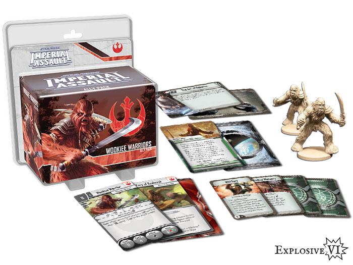 Imperial Assault Wookiee Warriors