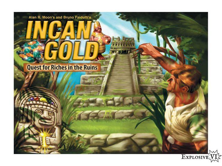 Incan Gold Board Game