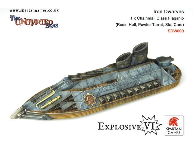 Iron Dwarves Chainmail Class Flagship