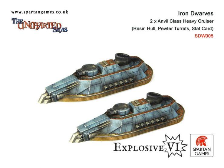 Iron Dwarves Anvil Class Heavy Cruiser