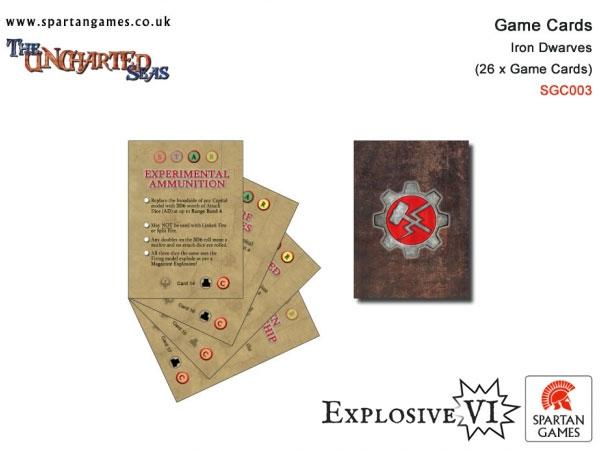 Iron Dwarves Star Game Cards