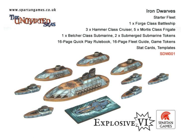 Iron Dwarves Starter Fleet