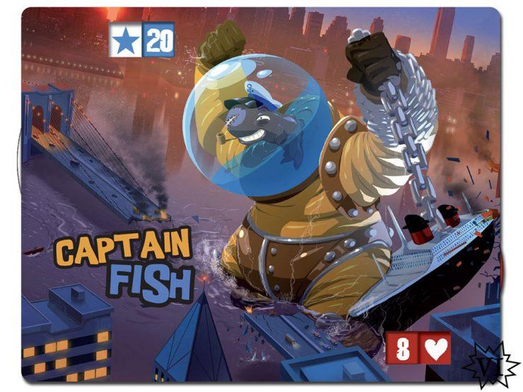 King of New York Captain Fish