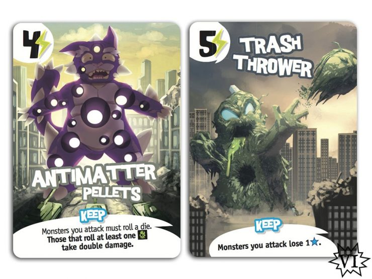 King of New York Power Cards