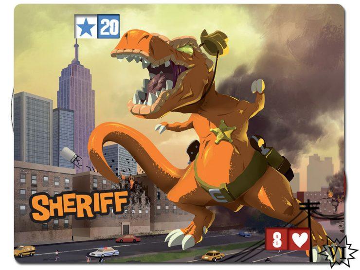 King of New York Sheriff