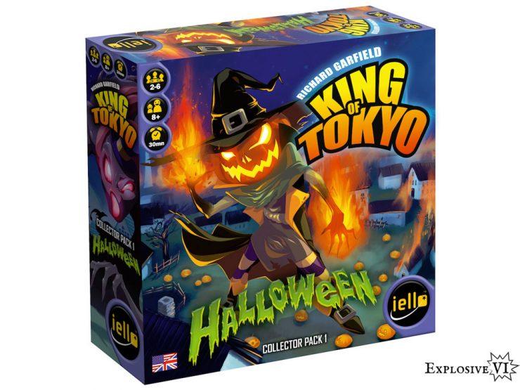 King of Tokyo Halloween Collectors Pack 1