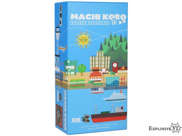 Machi Koro Harbour Expansion